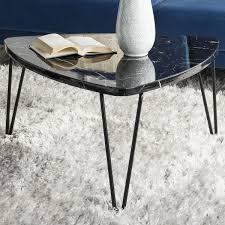 Modernist Handle Side Table White Marble London Flat Pinterest