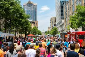 100 Raleigh Food Truck Downtown NC Rodeo