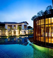 100 House And Home Pavillion Luxury With Layered Gardens And Screened Circular Pavilion