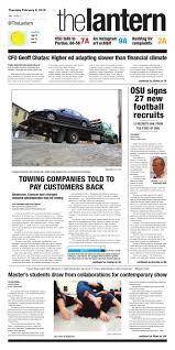 100 Tow Truck Columbus Ohio February 5 2015 By The Lantern Issuu