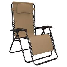 Reclining Camping Chairs Ebay by Oversized Zero Gravity Chair Beige Dual Finger Tip 80009500150 Ebay