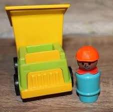100 Little People Dump Truck SALE Vintage Fisher Price People Construction Worker Etsy