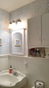Half Bathroom Ideas With Pedestal Sink by Farmhouse Rehab Small Bathroom Makeover