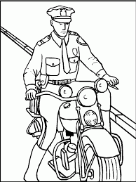 Add Photo Gallery Police Coloring Book