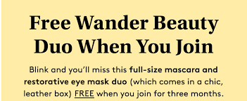 Birchbox Coupon Code: FREE Wander Beauty Duo! - Hello ... Coupon Code Fullbeauty Black Friday Deals Kayaks List Of Crueltyfree Vegan Beauty Box Subscriptions Glossybox March Review Code Birchbox May 2019 Subscription Dont Forget To Use Your 20 Bauble Bar From Allure Free Goodies With First Off Cbdistillery Verified Today Nmnl Spoiler 3 Coupon Codes Archives Pretty Gossip Be Beautiful Coupons Dell Xps One 2710