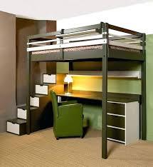 lit mezzanine 1 place bureau integre lit superpose avec bureau lit mezzanine avec bureau integre lit