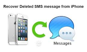 Recover deleted SMS message from iPhone without backup