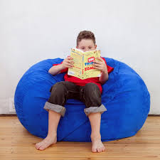 The Blueberry Junior Classic Saxx Bean Bag Is Comfortable And Stylish Perfect For Playrooms Or In A Reading Nook