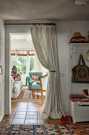 Curtain Ideas For Living Room Pinterest by Best 25 Doorway Curtain Ideas On Pinterest Diy Door Instalation