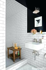 Subway Tile Bathroom Ideas White Tile Bathroom Black Subway Tile ... Mosaic Tiles Bathroom Ideas Grey Contemporary Tile Subway Wall And White Tile Bathroom Ideas Pinterest Subway Interior Lamaisongourmet Glass 6x12 Backsplash Images Of Showers Our Best Better Homes Gardens Unique Pattern Design White Kitchen For Natural And Classic Look The New Sportntalks Home Cool 46 Small Light Gray Color With Elegant Using Wooden Floor 30 Beautiful Designs