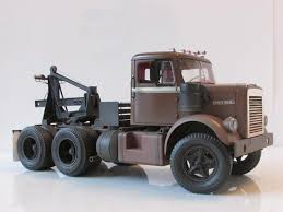 100 Trucks Stephen King White 9000 From Maximum Overdrive On The Workbench Big Rigs