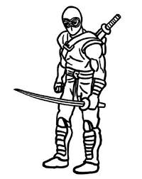 Top Ten Ninja Coloring Pages For Kids