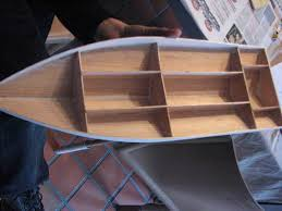 rc boat made out of polyester 6 steps