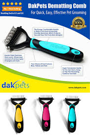 Shedding Blade For Horses by Dakpets Dematting Tool For Dogs Cats And Horses Is The Best Dog