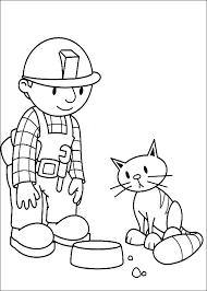 Bob The Builder Color Page