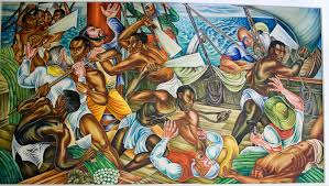 Famous Mural Artists Los Angeles by Hale Woodruff U0027s Famous Talladega Murals Headed To African American