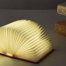 NEW Hot Lumio Style LED Folding Book Lamp 4 Colors Light