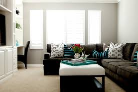 Paint Colors Living Room Grey Couch by Gray Sectional Contemporary Living Room Belmont Design Group