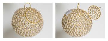 How To Make A Crystal Ball Chandelier