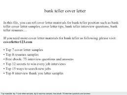 Teller Supervisor Resume Templates Best Solutions Of Cover Letter For Position On