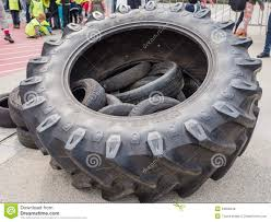 100 Tire By Mark Huge Truck Tires Editorial Stock Photo Image Of Mark 43206248