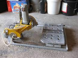 Workforce Wet Tile Saw 7 by Workforce Thd850 Tile Saw Espotted