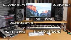 Setup Recording S Home And Rhcom My Low Budget Youtuberhyoutubecom Professional Music Studio
