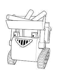 Amazing Free Bob The Builder Cartoon Coloring Pages Printable For Kids