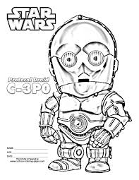 Free Printable Star Wars Christmas Coloring Pages For Kids