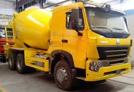 100 Concrete Truck Capacity HOWO 6x4 Mixer ZZ1257N3841W 12m3