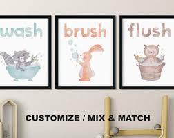 Cheap Owl Bathroom Accessories by Kids Bathroom Decor Etsy
