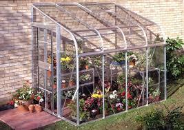 de jardin adossée en verre