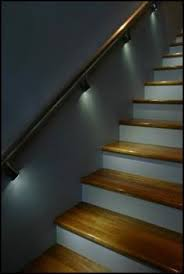 the accent lighting going the staircase portfolio of