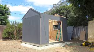 Tuff Shed Home Depot Commercial by Homemade Modern Ep115 Building A Solar Powered Workshop