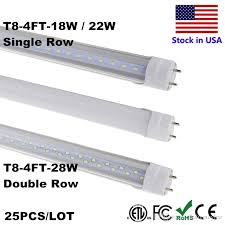 4ft t8 led 18w 22w 28w 4 cold white 100lm w smd2835 1 2m