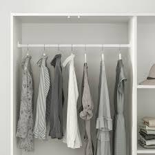kleppstad kleiderschrank mit 3 türen weiß 117x176 cm