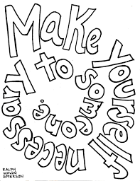 Quote Coloring Pages Printable Archives And