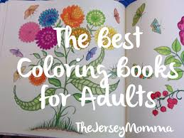 The Jersey Momma The Best Adult Coloring Books