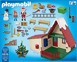 maison du pere noel playmobil playmobil 5976 jeu de construction maisonnette du père noel