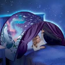 Twin Bed Tent Topper by Dreamtents Kids Pop Up Bed Tent Playhouse Toys Pinterest