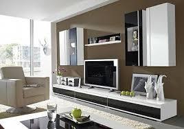 wohnzimmer wohnwand 8 tlg vitrine tv board hängeschrank