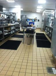 commercial kitchen floor cleaning image