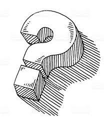 Pin Drawn Question Mark Sketch 9