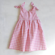 rabbit dress pink check robe of feathers