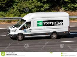 100 Enterprise Rent Truck Ford Transit Of On Motorway Editorial Photo Image Of