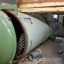 used isve es5 1994 vacuum dryer for sale italy