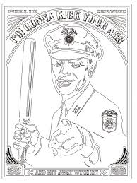 Police Brutality Coloring Book By Shepard Fairey