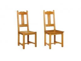 chaise en ch ne massif chaise rustique silver en chêne massif avec dossier en croix