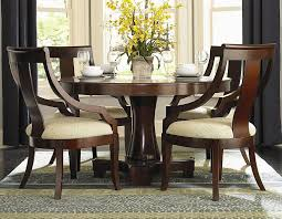 Best Dining Table Ideas: Round Pedestal Table Iris Dark Brown Round Glass Top Pedestal 5 Piece Ding Table Set Nice 48 Inch 9 Relaxbeautyspacom Wood Kitchen Small And Chairs Shop Wilmington Ii 60 Rectangular Antique Sage Green White Others Bright Modern Vancouver Oval Double In Oak 40x76 Copine Cheap Find Diy Plans Pdf Download Odworking Braxton Culler Room Fairwinds Roundoval