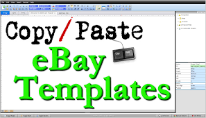 How To Create EBay HTML Listing Template